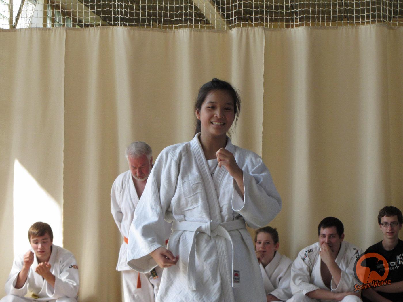 Kyu-Prüfung: Krönender Abschluss vor den Ferien
