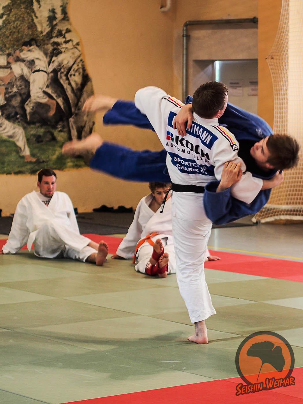 Judotraining für unsere Wettkämpfer zur DEM 2014