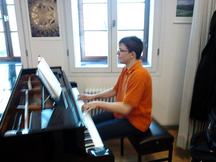 Sebastian gibt sein Diplomkonzert!