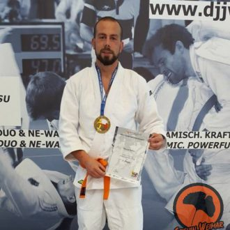 Dritter Platz bei der Deutschen Ju-Jutsu Meisterschaft in Limburg a. d. Lahn