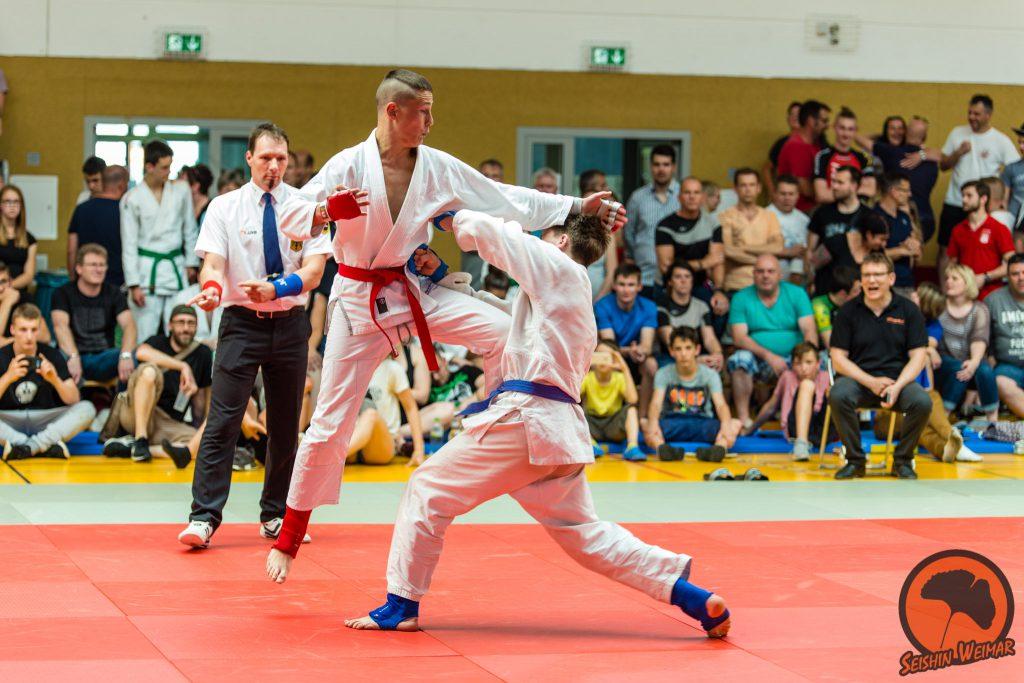 Felix Tischler, Deutsche Schülermeisterschaft 2018, SEISHIN Weimar e.V. war dabei