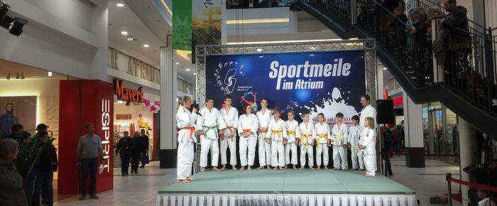 Sportmeile 2018 im Atrium Weimar