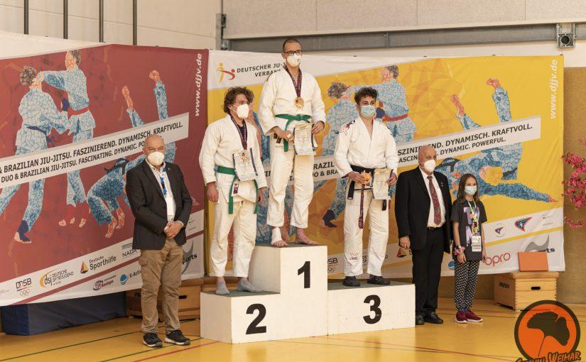 Deutsche Meisterschaften 2021 – Felix Tischler erzielt Gold