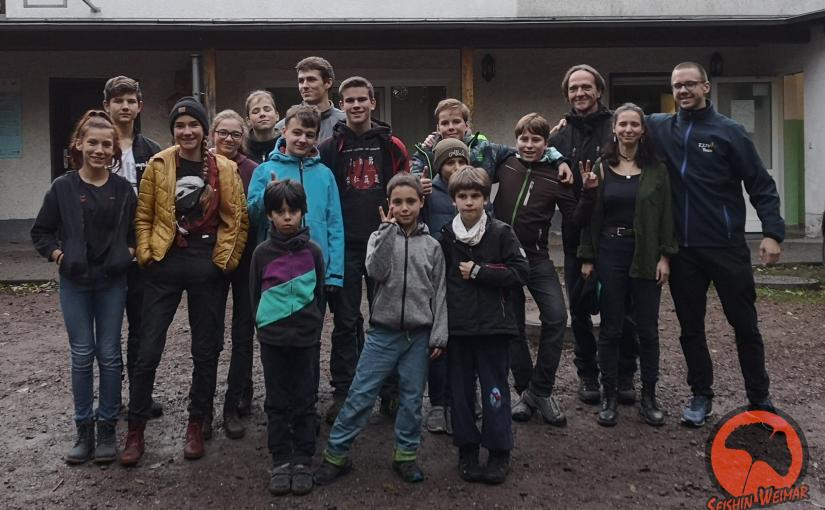 Vereinsfahrt Finsterbergen – Die Ankunft, erste Begegnungen und bunte Kreise